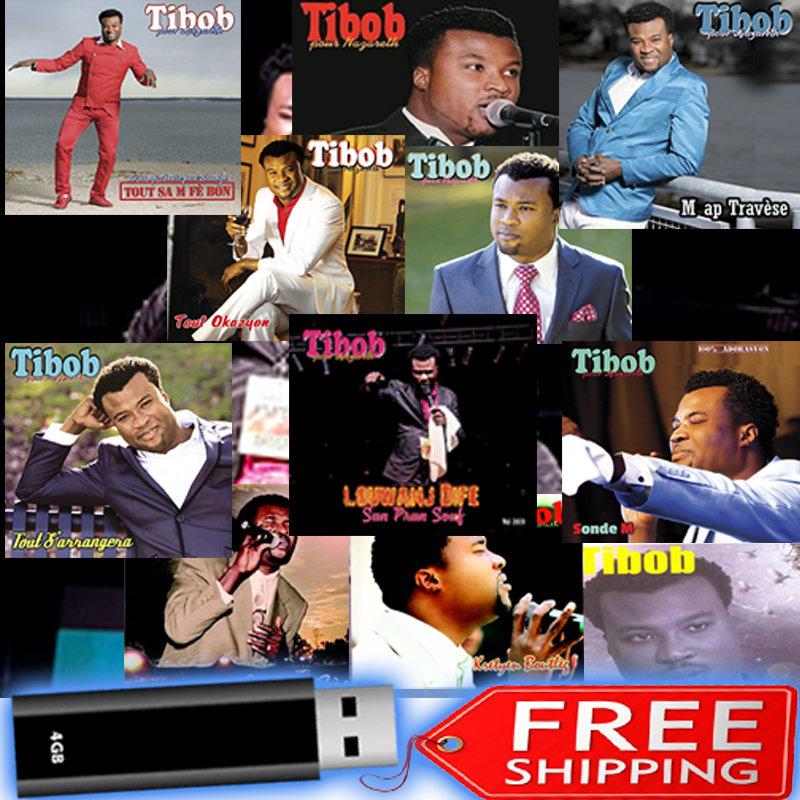 ALL Tibob's Gospel CDs...